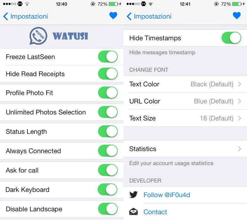 What you can do with Watusi