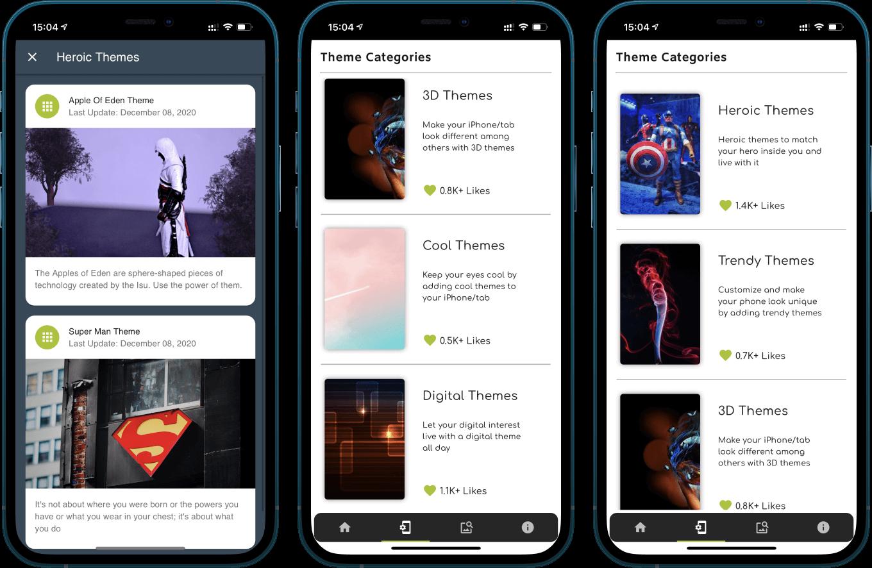 iOS 14.5 Wallpaper Collection