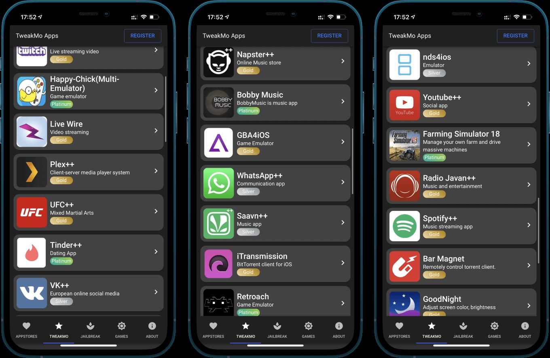 iOS 14.5 Hacked / Tweaked Apps & Games