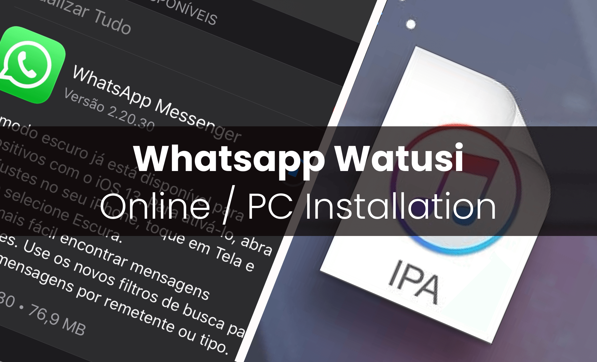Install Watusi Online without Jailbreaking