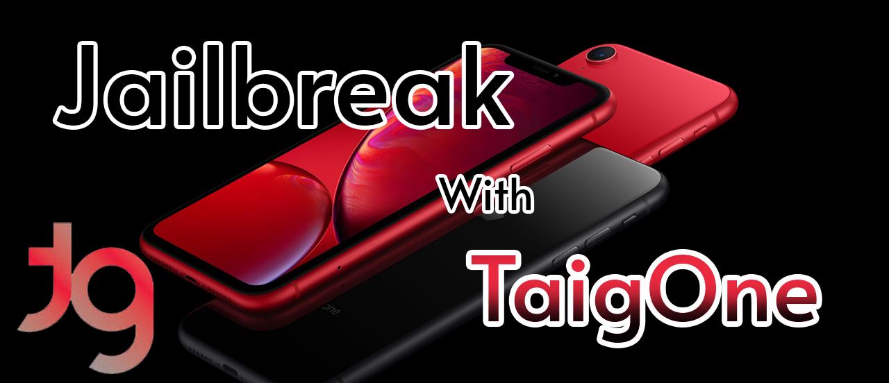 Jailbreak iOS 14.6 with TaigOne