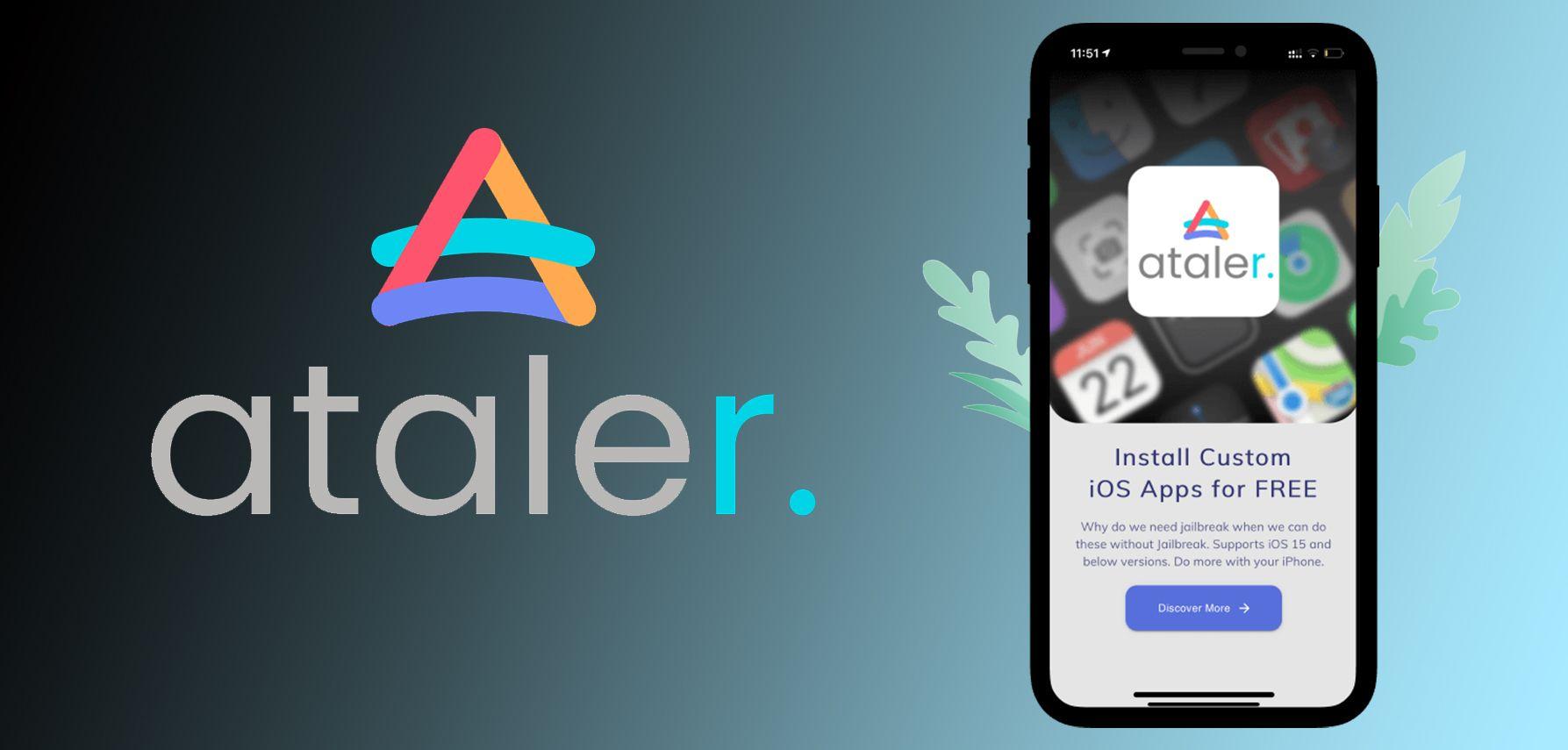 Jailbreak iOS 14.6 with Ataler