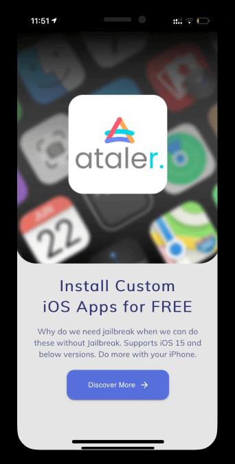 How to install TweakMo via Ataler apps